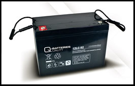 Q-Batteries 12LC-92 Deep Cycle 93Ah AGM-Vliesbatterie
