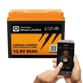 LIONTRON LiFePO4 12,8V 80Ah LX Smart BMS mit Bluetooth 5 Jahre Hersteller Garantie