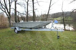 GFK Katamaranboot K Maxxi 4.60 x 1.70 (Boot ohne Trailer und Zubehör)