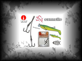 1Stk. Cannelle Shad-System 431
