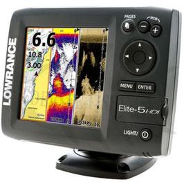 Lowrance Elite 5 Hdi Combi Echolot mit GPS