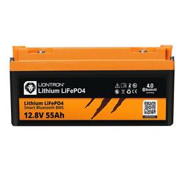 LIONTRON LiFePO4 12,8V 55Ah LX Smart BMS mit Bluetooth 5 Jahre Hersteller Garantie
