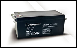 Q-Batteries 12LC-260 Deep Cycle 278Ah AGM-Vliesbatterie
