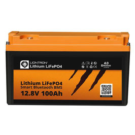 LIONTRON LiFePO4 12,8V 100Ah LX Smart BMS mit Bluetooth 5 Jahre Hersteller Garantie