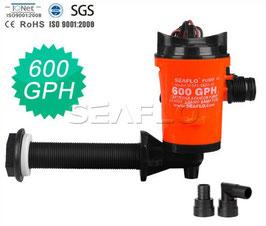 Livewell Pumpe SEAFLO 600GPH