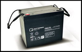 Q-Batteries 12LC-75 Deep Cycle 77Ah AGM-Vliesbatterie