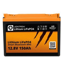 LIONTRON LiFePO4 12,8V 150Ah LX Smart BMS mit Bluetooth 5 Jahre Hersteller Garantie