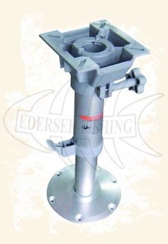 Abnehmbarer Stuhlfuß, manuell höhenverstellbar von 330 mm bis 480 mm, PLUG-IN BASE