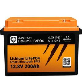 LIONTRON LiFePO4 12,8V 200Ah LX Smart BMS mit Bluetooth 5 Jahre Hersteller Garantie