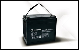 Q-Batteries 12LC-134 Deep Cycle 143Ah AGM-Vliesbatterie