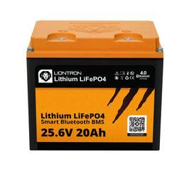 LIONTRON LiFePO4 25,6V 20Ah LX Smart BMS mit Bluetooth 5 Jahre Hersteller Garantie