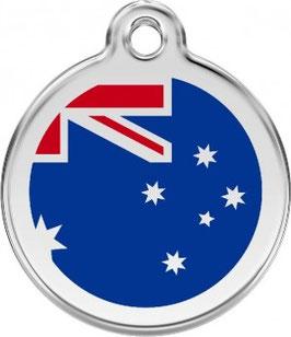 RedDingo Hundemarke Australian Flag AU
