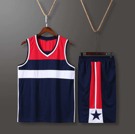 Washington Wizards Basketball Jersey Plain (available in kids sizes)