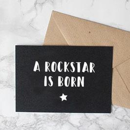 Kaart A rockstar is born