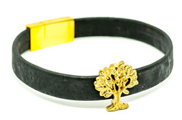 Baum Armband in Gold Edition