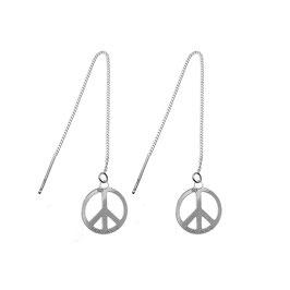 Boucles d'oreilles Peace & Love (GM)