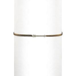 Bracelet cordon Flèche