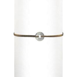 Bracelet cordon Rondelle