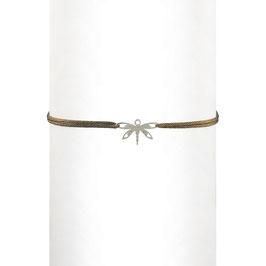 Bracelet cordon Libellule