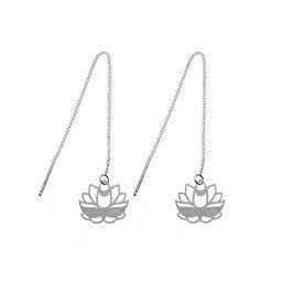 Boucles d'oreilles Lotus (GM)