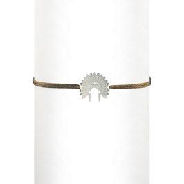 Bracelet cordon Indienne