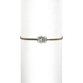 Bracelet cordon Scarabée