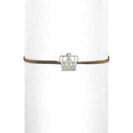Bracelet cordon Couronne