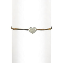 Bracelet cordon Coeur