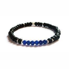 Bracelet Montagne - bleu