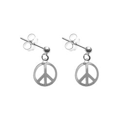Boucles d'oreilles Peace & Love (PM)