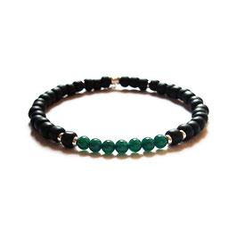 Bracelet Agathe - vert