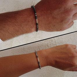 """2 Bracelets """"Elle et Lui"""""""