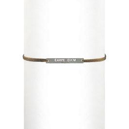 Bracelet cordon Carpe Diem