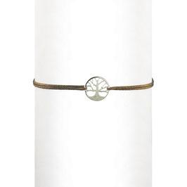 Bracelet cordon Arbre