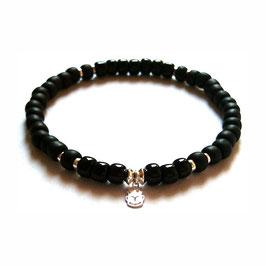 Bracelet Scarabée - argent