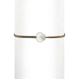 Bracelet cordon Coquillage