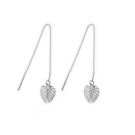 Boucles d'oreilles Feuilles de palmier (GM)