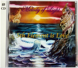 2 CD 5th Element is Love (2.Auflage)