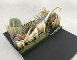 Artist Book:  Dino Parade
