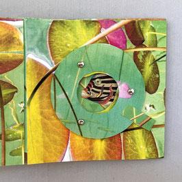 Artist Book:  Fish Under Lilypads