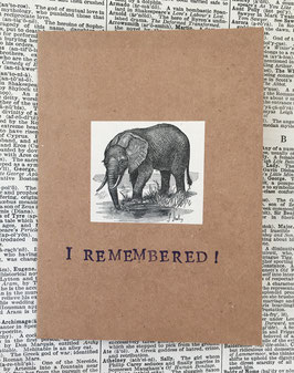 I remembered!  (91)