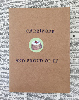 Carbivore, and proud of it!  (88)
