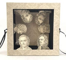 Artists Book:  Tunnel of Heads