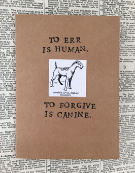 To err is human (20)