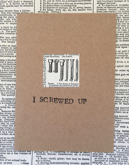 I screwed up! (43)