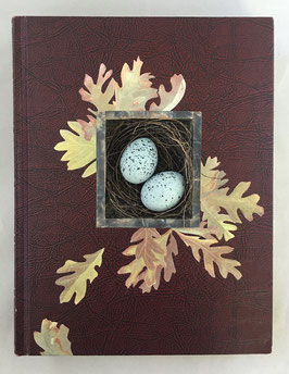 Altered Book: Britannica Nest