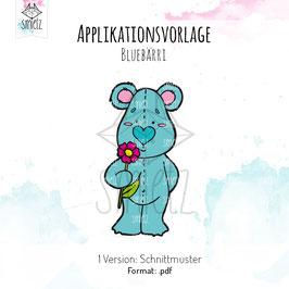 """Applikationsvorlage """"Bluebärri"""""""