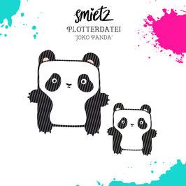 """Plotterdatei """"Joko Panda"""""""