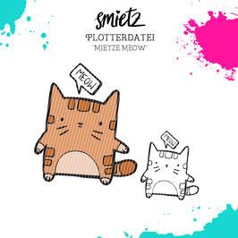 """Plotterdatei """"Mietze Meow"""""""