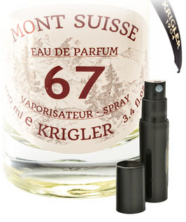 MONT SUISSE 67  Probe 2-ml-Flakon